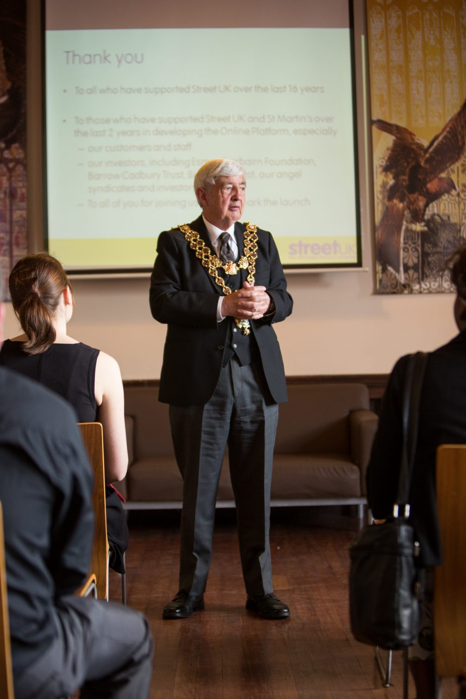 Lord Mayor of Brimingham Cllr Ray Hassal