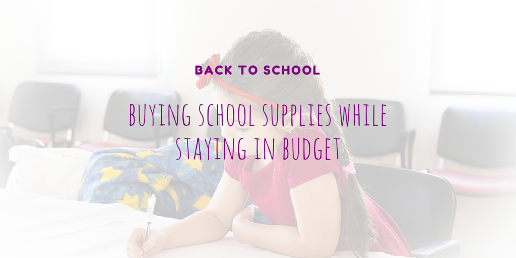 Street UK - Back to School on a Budget