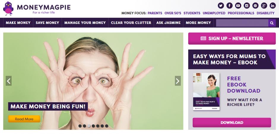 Best Money Saving Blogs - Money Magpie