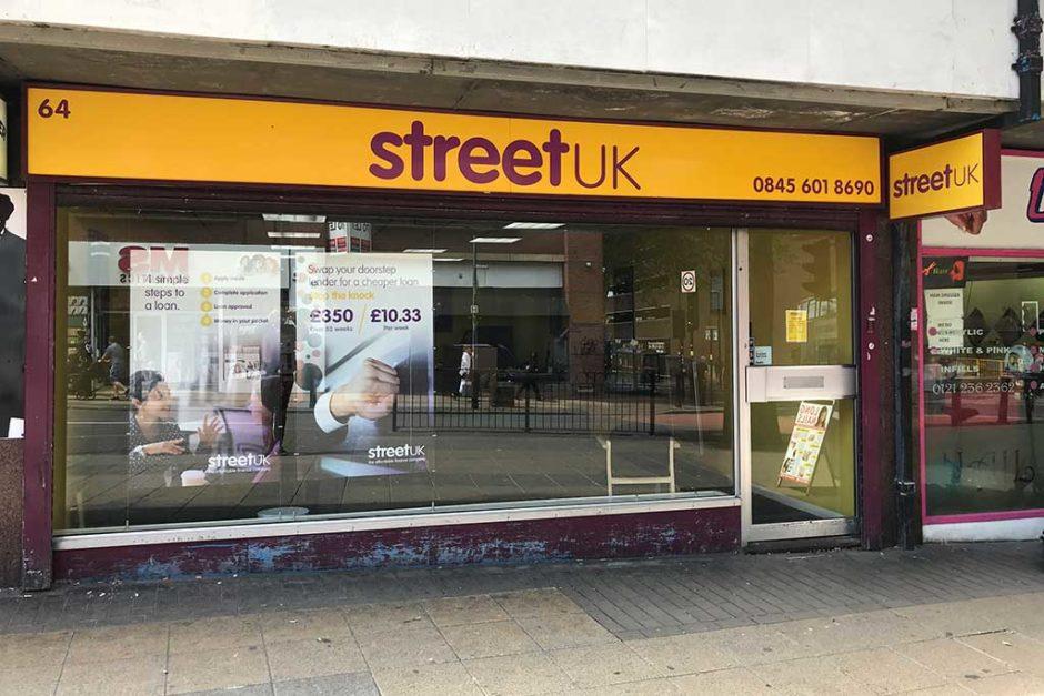 street uk birmingham central branch front